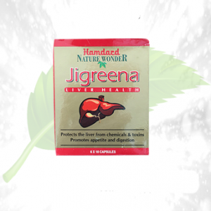 Hamdard Jigreena Liver Health Tablets