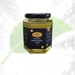Pure Raw British Blossom Honey 340GM