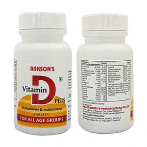 Bakson's Vitamin D Plus
