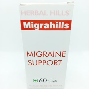 Migrahills Herbal Migraine Support Headache Relief